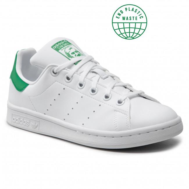 Scarpe adidas - Stan Smith J FX7519 Ftwwht/Ftwwht/Green