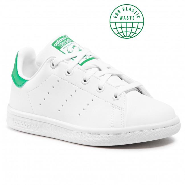 Scarpe adidas - Stan Smith C FX7524 Ftwwht/Ftwwht/Green