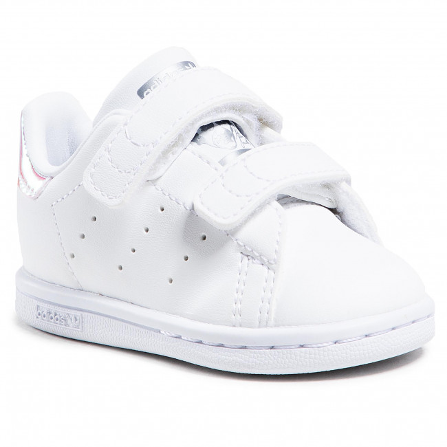 Scarpe adidas - Stan Smith Cf I FX7537 Ftwwht/Ftwwht/Silvmt