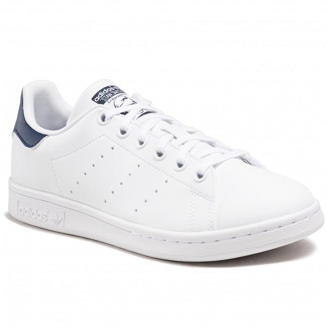 Scarpe adidas - Stan Smith J H68621 Ftwwht/Ftwwht/Dkblue