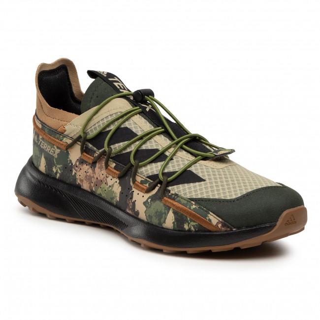Scarpe adidas - Terrex Voyager 21 FW9407 Savann/Cblack/Solgrn