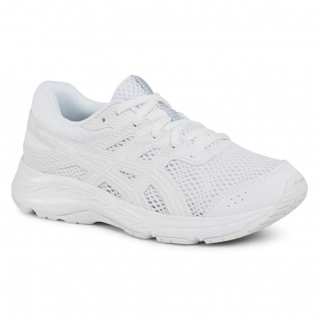 Scarpe ASICS - Contend 6 Gs 1014A086 White/White 102