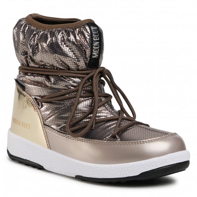Stivali da neve MOON BOOT - Jrgirl Low Nylon Premium Wp 34052300001 D Platinum