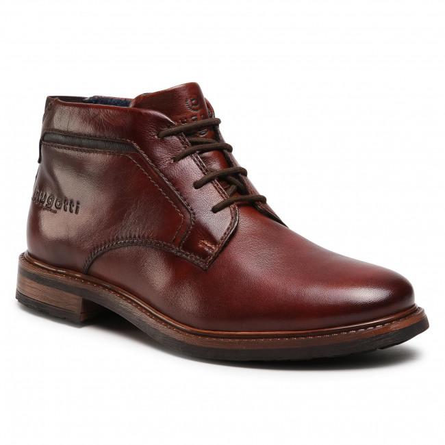 Polacchi BUGATTI - 311-A1730-4000-6100 Dark Brown