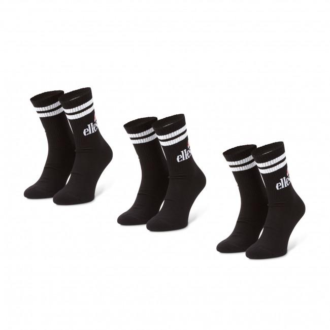 Set di 3 paia di calzini lunghi da uomo ELLESSE - Pullo SAAC0620 Black