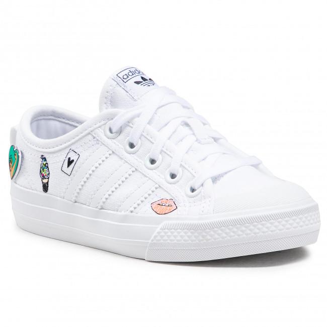 Scarpe adidas - Nizza C FY3399 Ftwwht/Ftwwht/Ftwwht