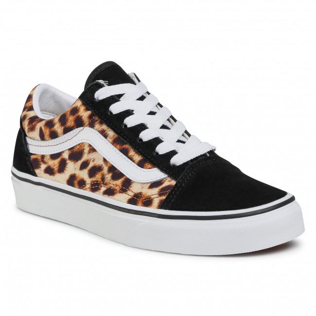 Scarpe sportive VANS - Old Skool VN0A4U3B3I61 (Leopard) Black/Truewhite