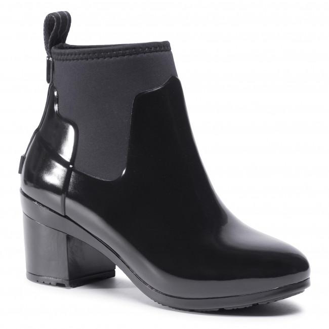 Wellington HUNTER - Refined Mid Heel Gloss WFP1012NRG Black