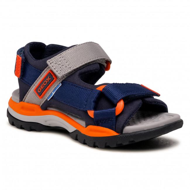 Sandali GEOX - J Borealis B. A J150RA 01511 C0659 M Navy/Orange
