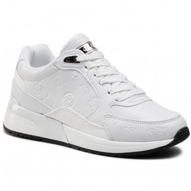 Sneakers GUESS - Moxea2 FL5MX2 PEL12 WHITE