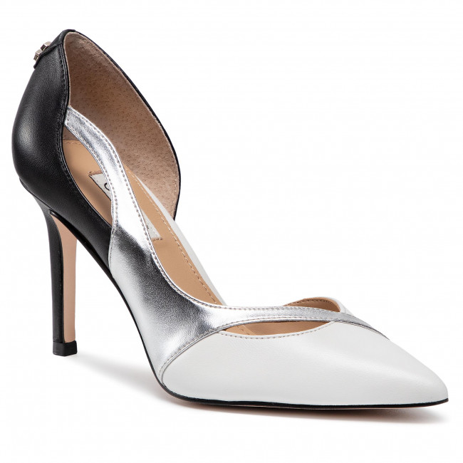 Scarpe stiletto GUESS - Denaly FL5DNY LEA08 WHISI
