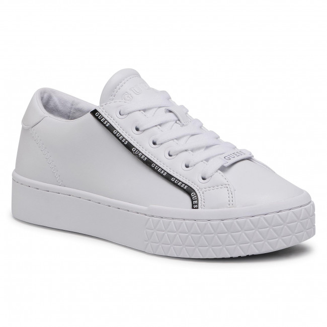 Sneakers GUESS - Pardie FL5PRD ELE12 WHBLK