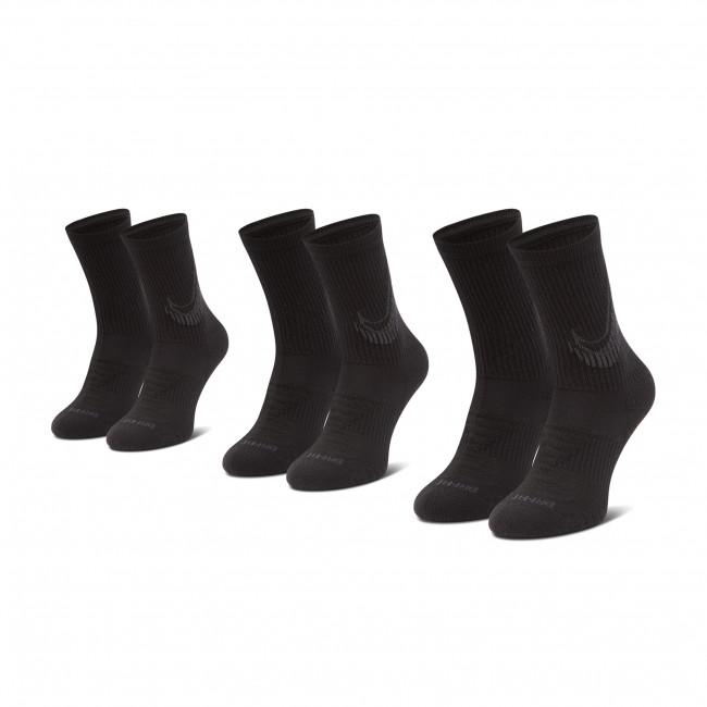 Set di 3 paia di calzini lunghi unisex NIKE - CN0789 010