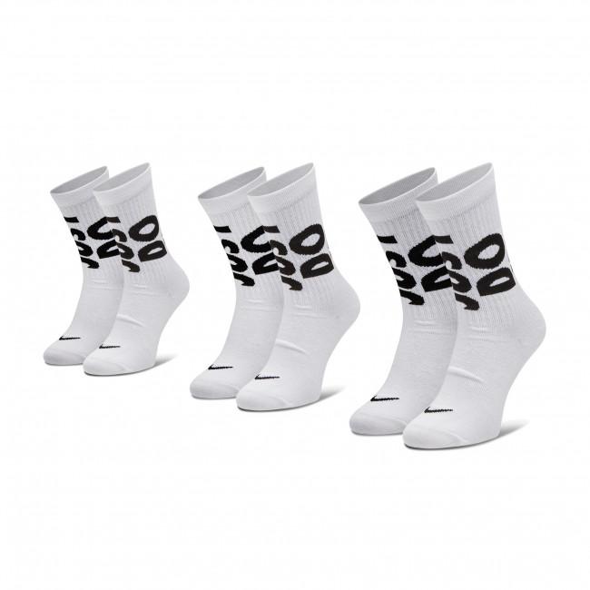 Set di 3 paia di calzini lunghi unisex NIKE - CT0539 100