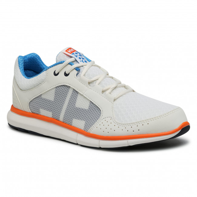 Scarpe HELLY HANSEN - Ahiga V4 Hydropower 11582_012 Off White/Racer Blue/Blaze Orange