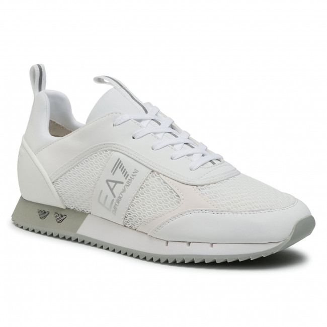 Sneakers EA7 EMPORIO ARMANI - X8X027 XK050 00175 White/Silver