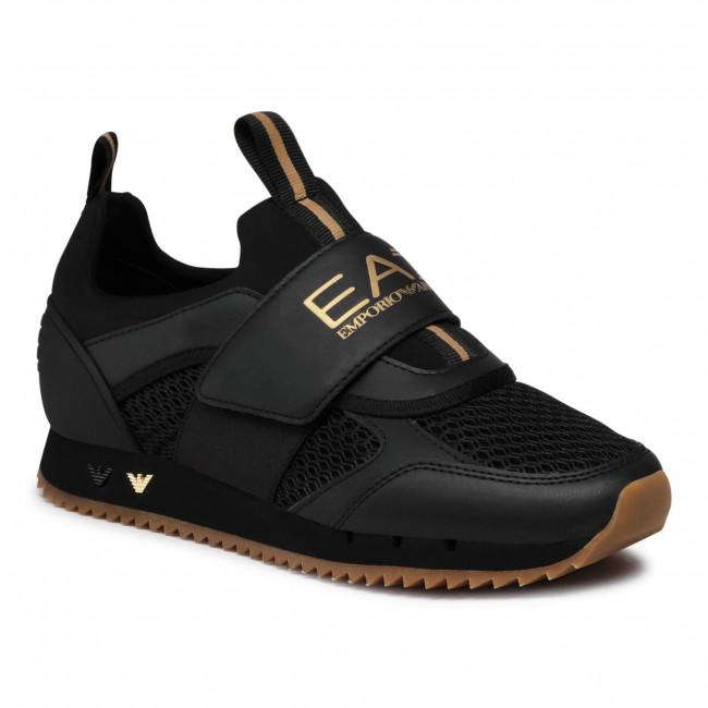 Sneakers EA7 EMPORIO ARMANI - X8X066 XK199 N442 Triple Blk/Gold/Hone