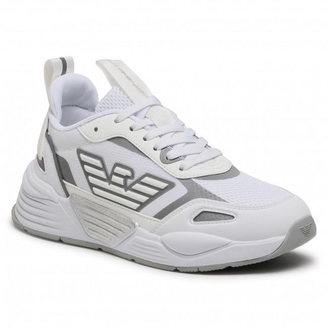 Sneakers EA7 EMPORIO ARMANI - X8X070 XK165 00175 White/Silver