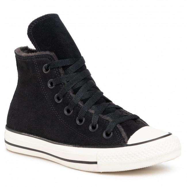 Scarpe da ginnastica CONVERSE - Ctas Hi 569399C  Black/Almost Black/Egret
