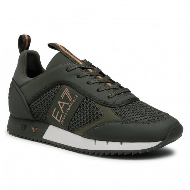 Sneakers EA7 EMPORIO ARMANI - X8X027 XK050 N439 Climbing Ivy/Bronze