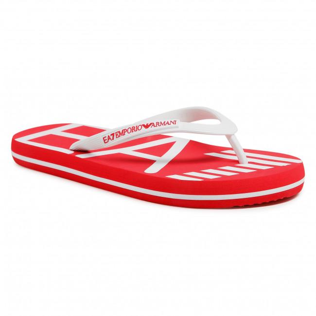 Infradito EA7 EMPORIO ARMANI - XCQ004 XK196 A134 Red/White