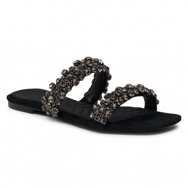 Ciabatte TORY BURCH - Crystal Slide 5Mm Sandal  Perfect Black 006