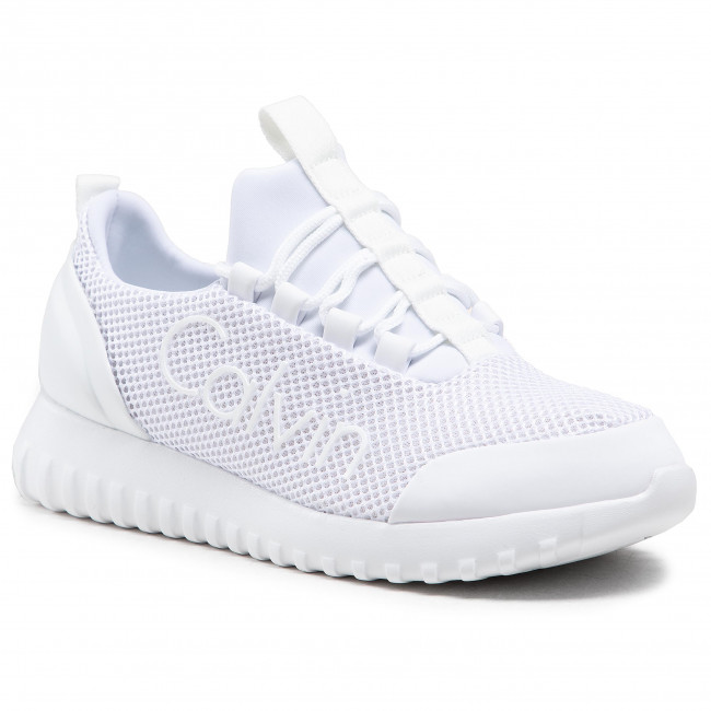 Sneakers CALVIN KLEIN JEANS - Runner Sneaker Laceup Mesh YW0YW00165 Bright White YAF