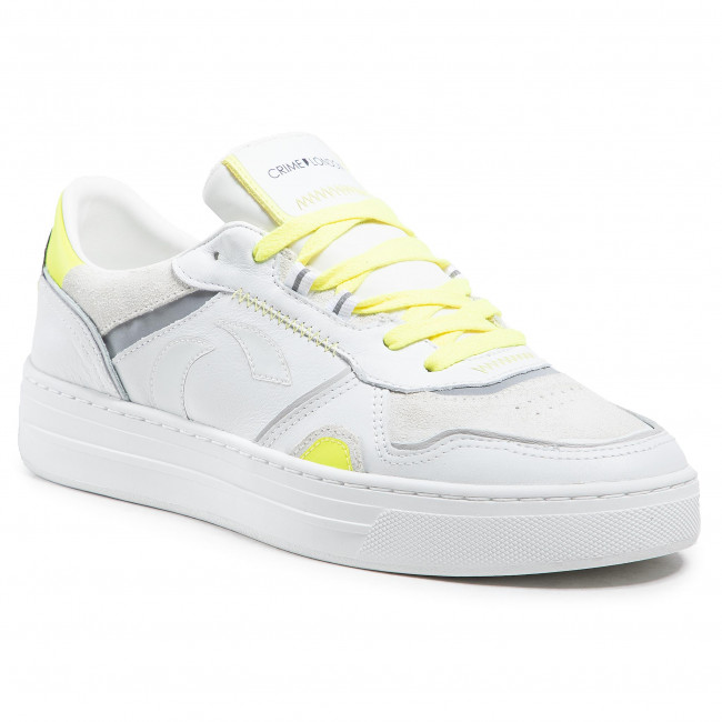 Sneakers CRIME LONDON - Low Top Off Court 11000PP3.10 Bianco