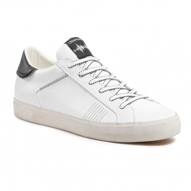 Sneakers CRIME LONDON - Low Top Distressed 11412PP3.10 White