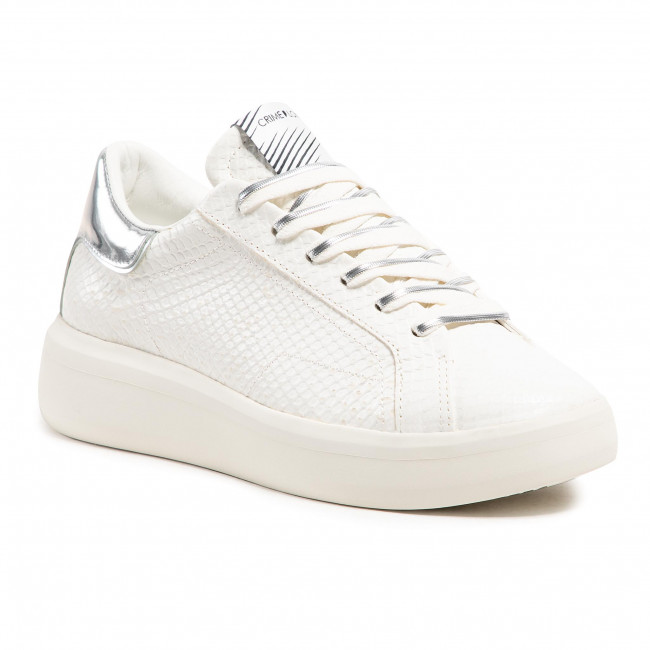 Sneakers CRIME LONDON - Low Top Level Up 25300PP3.10 White
