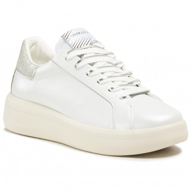 Sneakers CRIME LONDON - Low Top Level Up 25306PP3.10 White