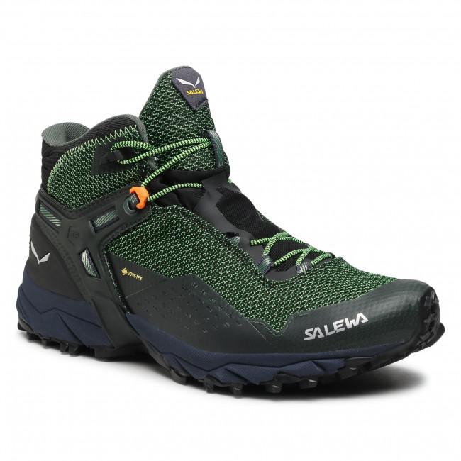 Scarpe da trekking SALEWA - Ms Ultra Flex 2 Mid Gtx GORE-TEX 61387 Raw Green/Pale Frog 5322