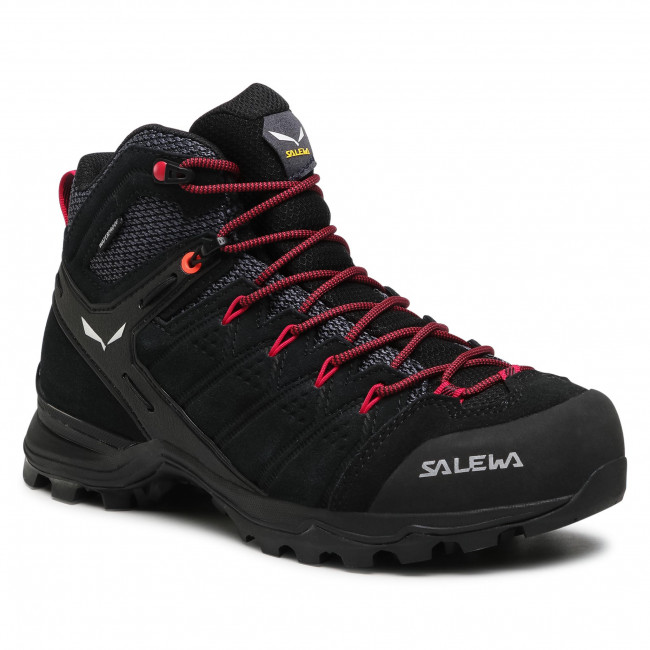 Scarpe da trekking SALEWA - Ws Alp Mate Mid Wp 61385-0998 Black Out/Virtual Pink