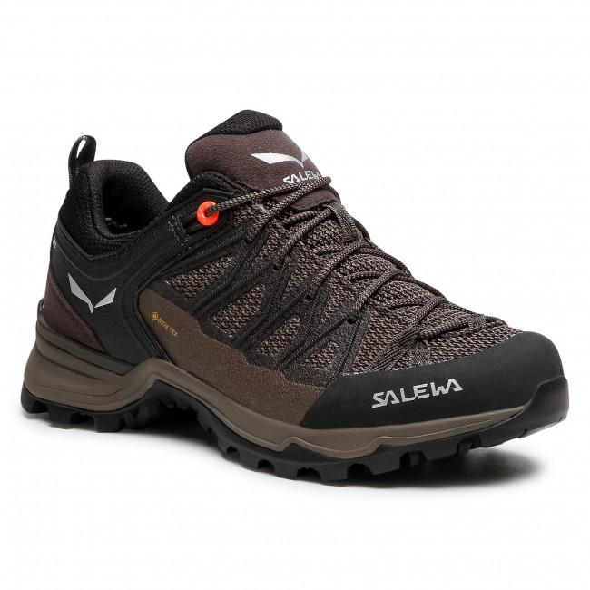 Scarpe da trekking SALEWA - Ws Mtn Trainer Lite Gtx GORE-TEX 61362-7517 Wallnut/Fluo Coral