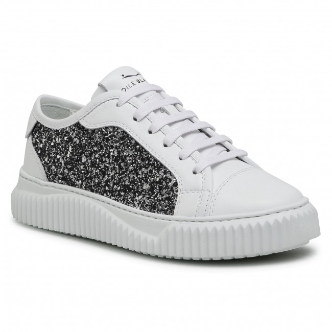 Sneakers VOILE BLANCHE - Maiorca Clean 0012015862.03.1N02 White/Silver