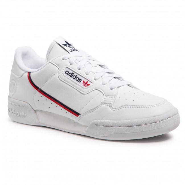 Scarpe adidas - Continental 80 Vegan FW2336 Ftwwht/Conavy/Scarle
