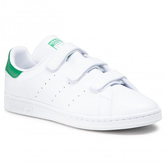 Scarpe adidas - Stan Smith Cf FX5509  Ftwwht/Ftwwht/Green