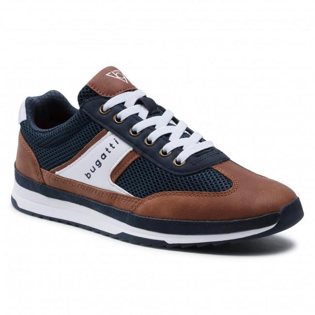 Sneakers BUGATTI - 321-A3A01-6959-4163 Dark Blue/Cognac