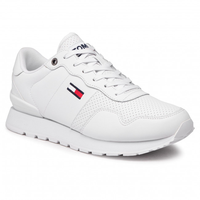Sneakers TOMMY JEANS - Lifestyle Lea Runner EM0EM00665 White YBR