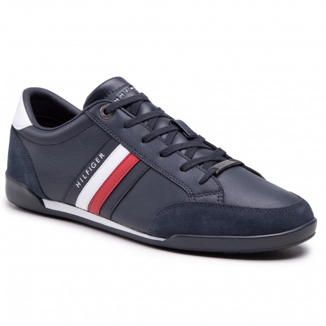 Sneakers TOMMY HILFIGER - Corporate Material Mix Cupsole FM0FM03429 Desert Sky DW5