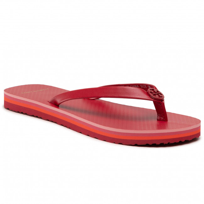 Infradito TORY BURCH - Mini Minnie Flip Flop 76732 Tory Red/Tory Red/Tory Red 600