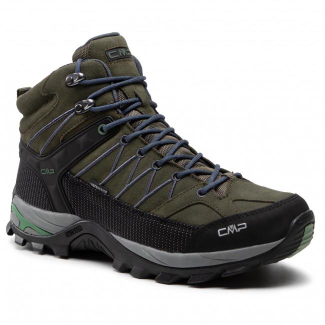 Scarpe da trekking CMP -  Rigel Mid Trekking Shoe Wp 3Q12947  Torba/Salvia