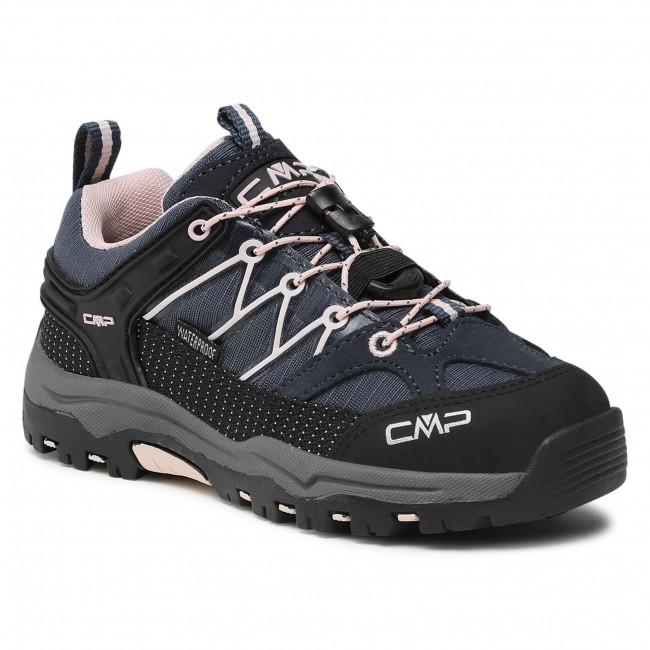 Scarpe da trekking CMP - Kids Rigel Low Trekking Shoe Wp 3Q54554 Asphalt/Rose 54UG