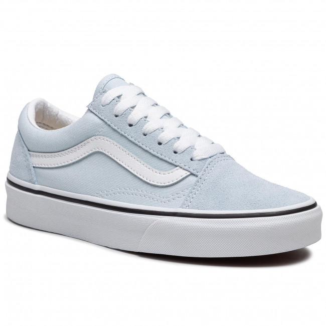 Scarpe sportive VANS - Old Skool VN0A3WKT4G41 Ballad Blue/True White