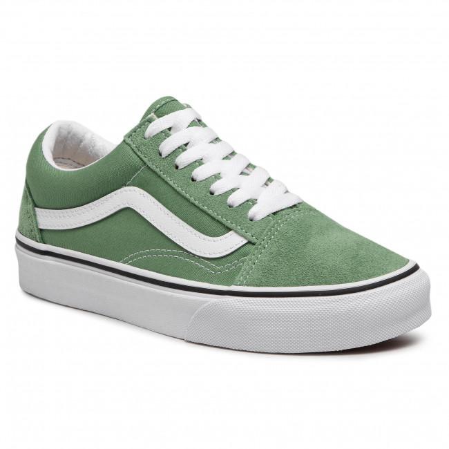 Scarpe sportive VANS - Old Skool VN0A3WKT4G61 Shale Green/True White