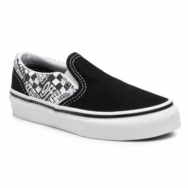 Scarpe sportive VANS - Classic Slip-On VN0A4BUT3WI1 (Off The Wall)Blk/Asphalt