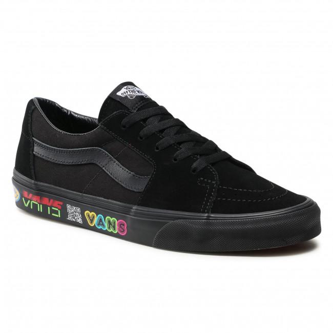 Scarpe sportive VANS - Sk8-Low VN0A4UUK4WB1 (Disruptive) Black/Black