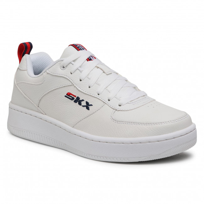 Sneakers SKECHERS - Sport Court 92 237188/WNVR White/Navy/Red