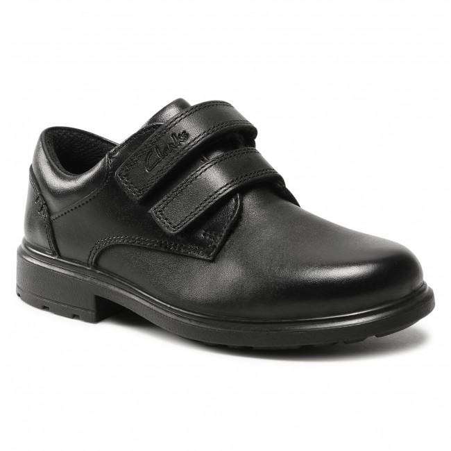 Scarpe basse CLARKS - Remi Pace K 261553087 Black Leather