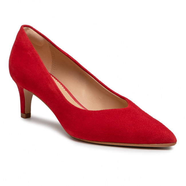Scarpe stiletto CLARKS - Laina55 Court2 261565994  Red Suede